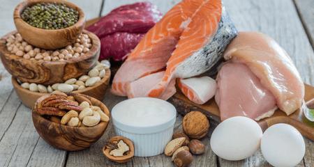 proteine pollo, vitello, salmone, uova